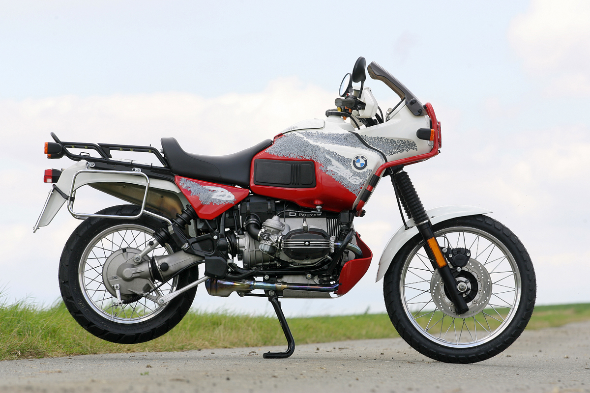 "BMW R100/GS - the last 2V-""GS"""